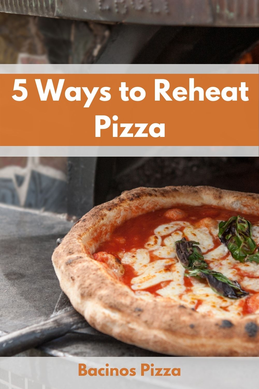 5 Ways to Reheat Pizza Which is Best Pin