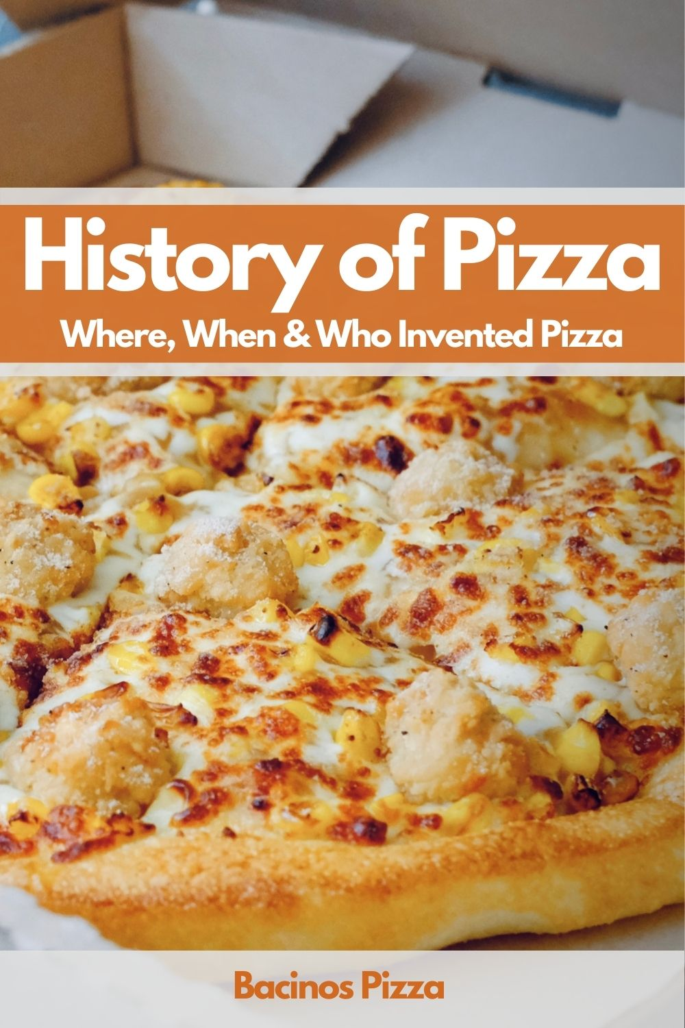 History of Pizza Where, When & Who Invented Pizza Pin 2