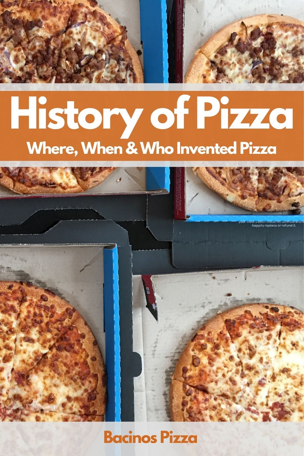 History of Pizza Where, When & Who Invented Pizza Pin