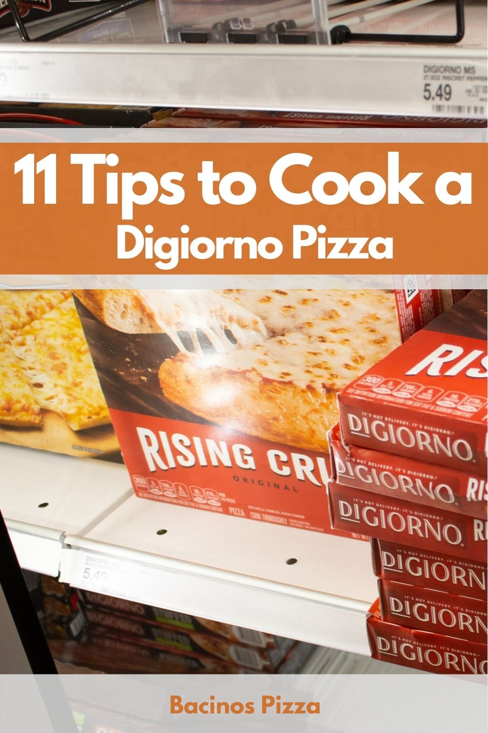 11 Tips to Cook a Digiorno Pizza pin