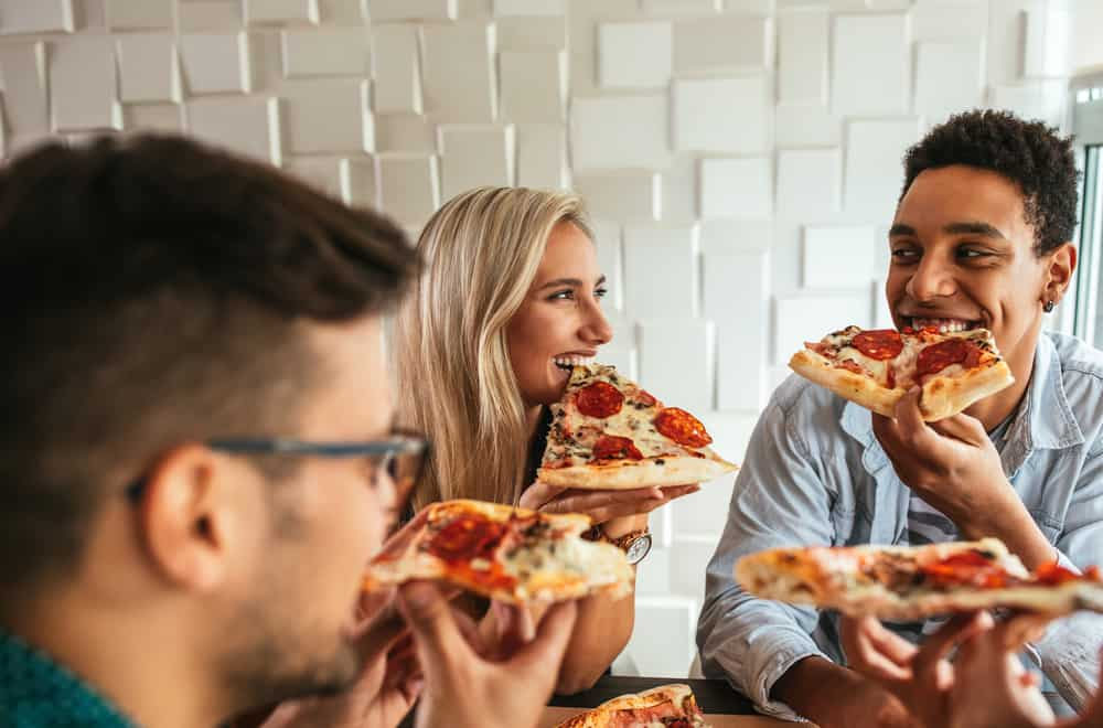 Can I eat pizza if my tooth hole was closed