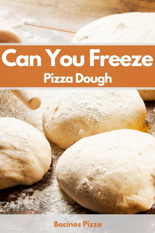 Can You Freeze Pizza Dough pin 2