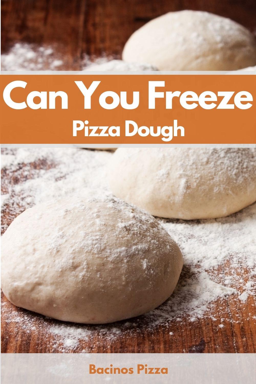 Can You Freeze Pizza Dough pin