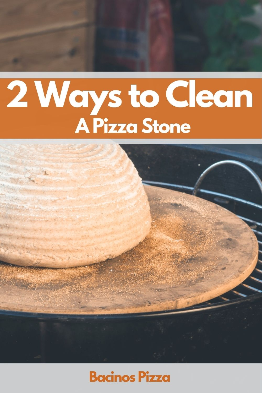Clean A Pizza Stone pin1