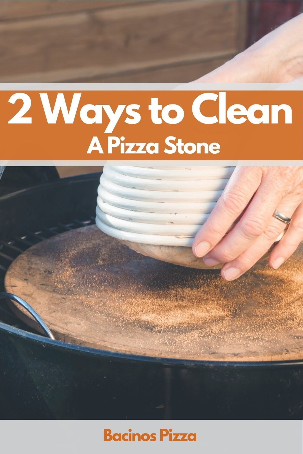 Clean A Pizza Stone pin2