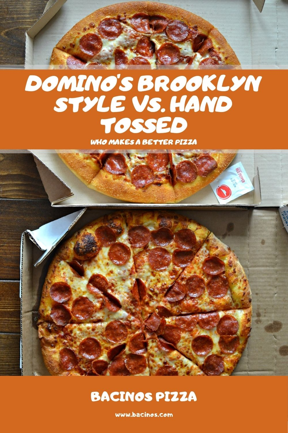 Domino's Brooklyn Style vs. Hand Tossed What's the Difference 1