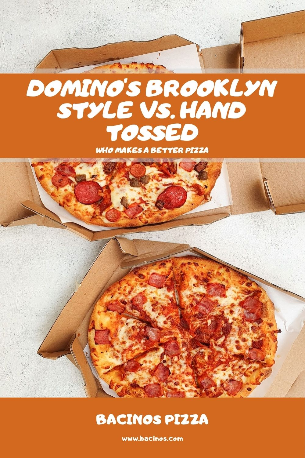 Domino's Brooklyn Style vs. Hand Tossed What's the Difference 3