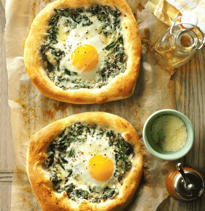 Egg-and-Spinach Breakfast