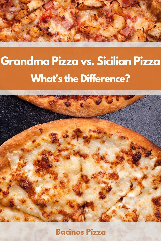 Grandma Pizza vs. Sicilian Pizza What's the Difference pin