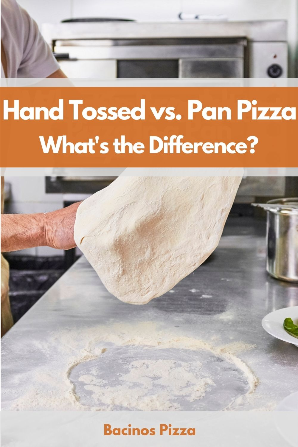 Hand Tossed vs. Pan Pizza What's the Difference pin