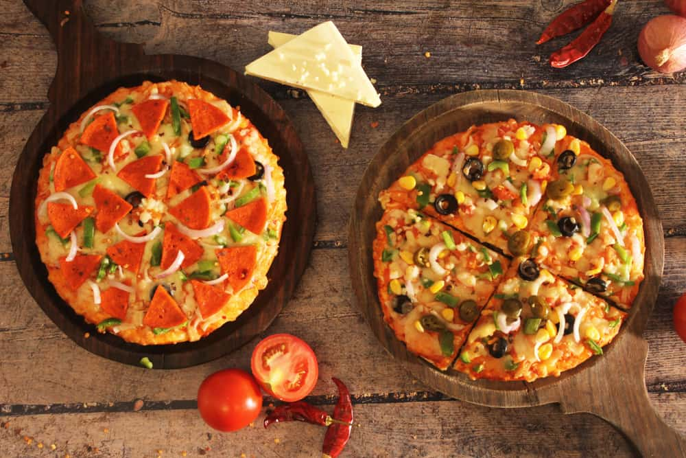 Hand Tossed vs. Pan Pizza What's the Difference