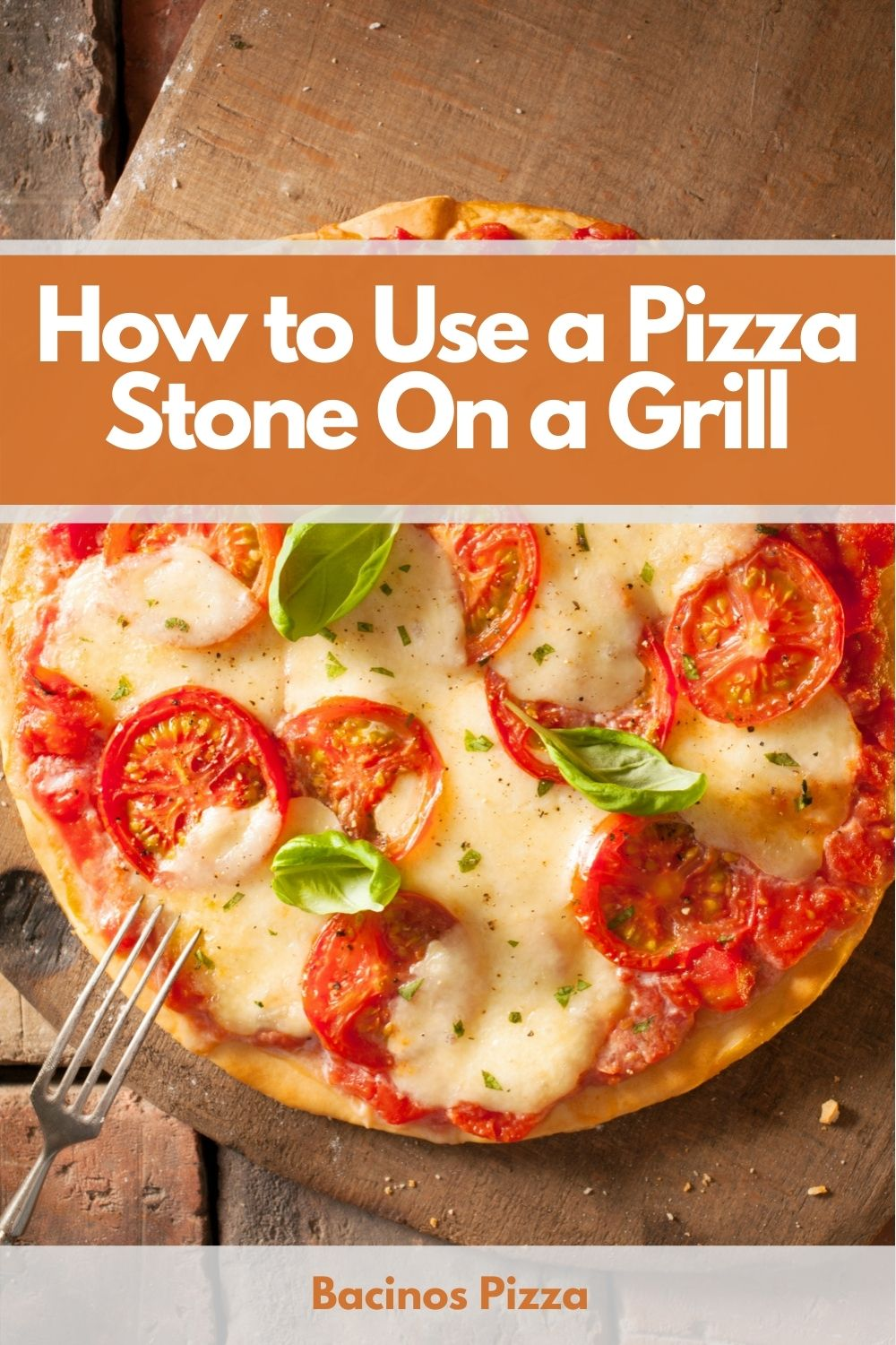 How to Use a Pizza Stone On a Grill pin