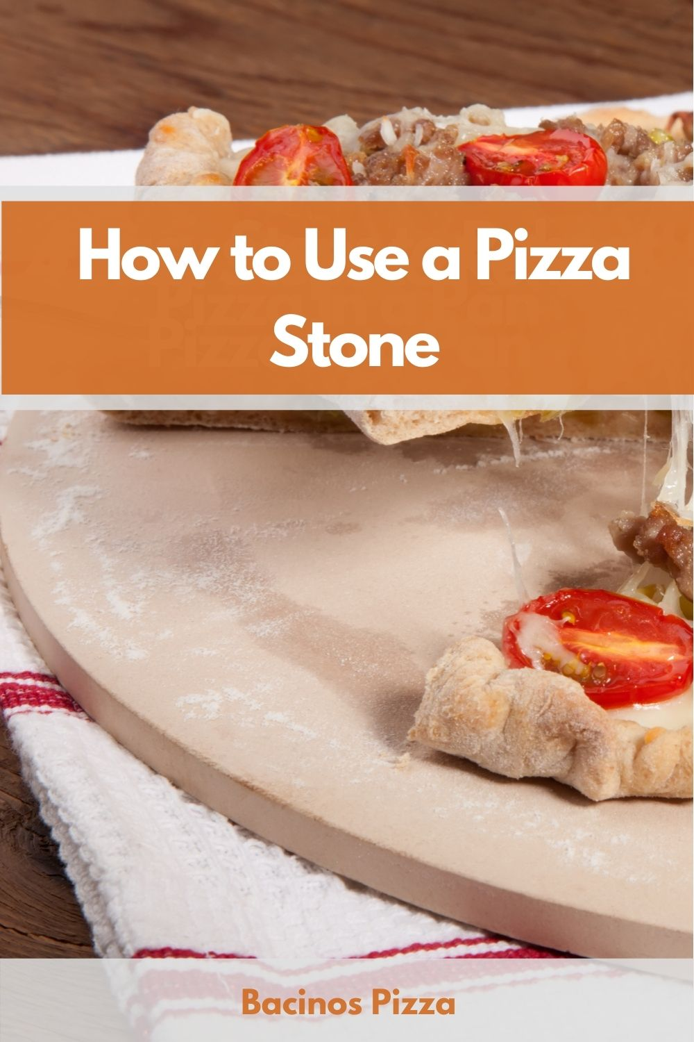 How to Use a Pizza Stone pin