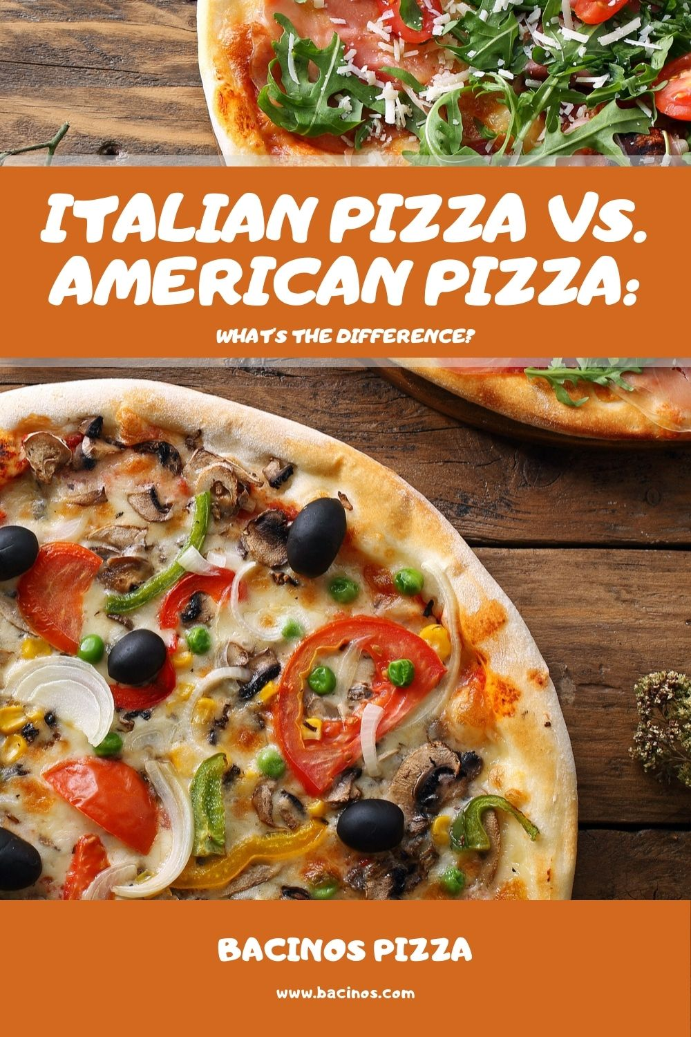 Italian Pizza vs. American Pizza What's the Difference 2