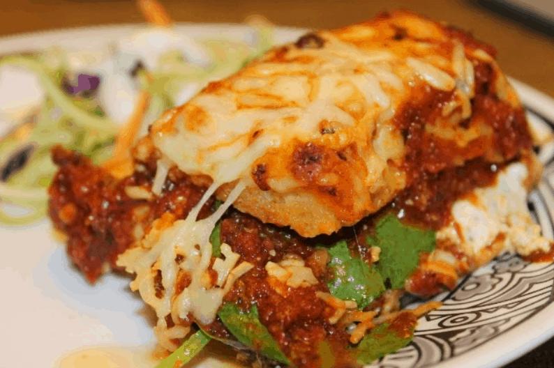 Leftover Pizza Lasagna