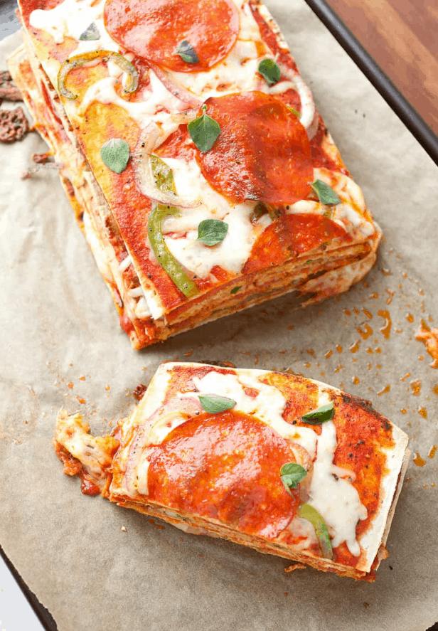 Pizza Cake Stack