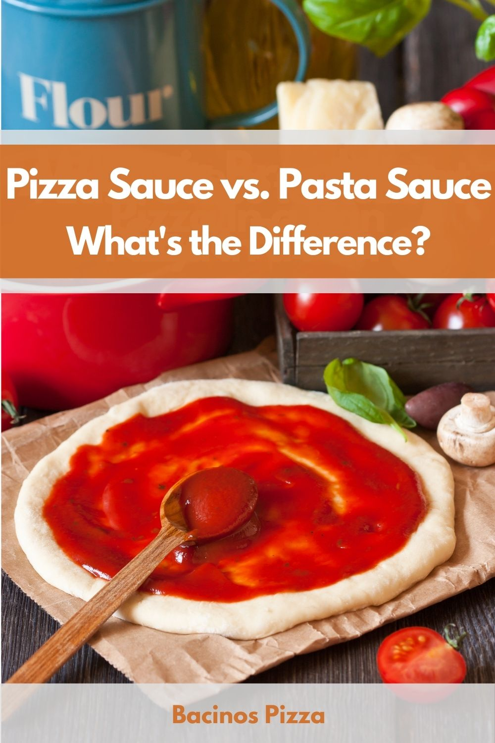 Pizza Sauce vs. Pasta Sauce What's the Difference pin