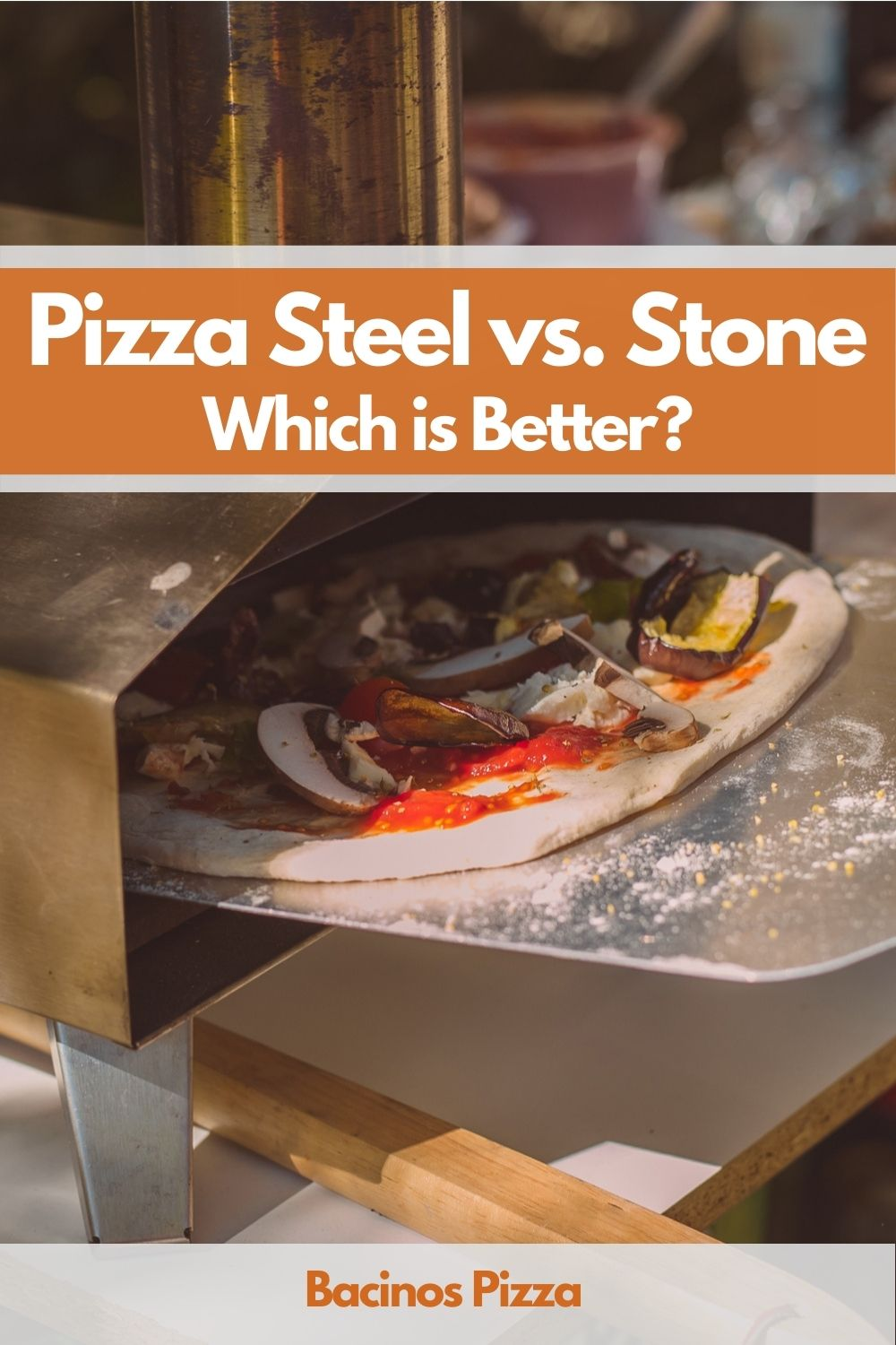 Pizza Steel vs. Stone pin 1