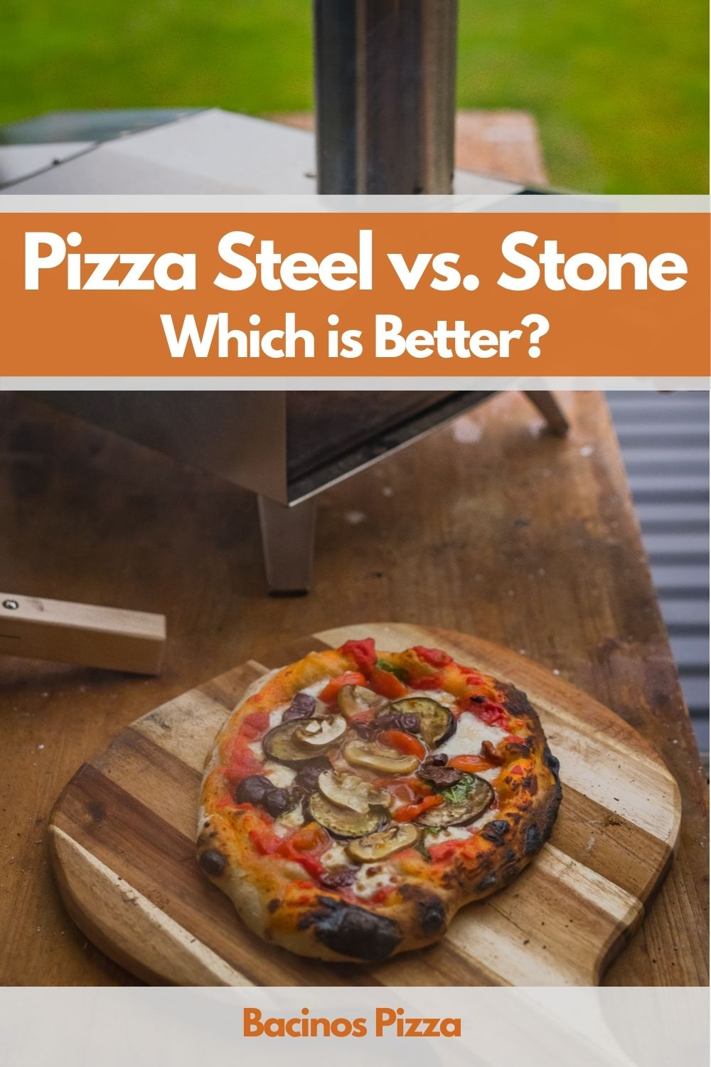 Pizza Steel vs. Stone pin 2