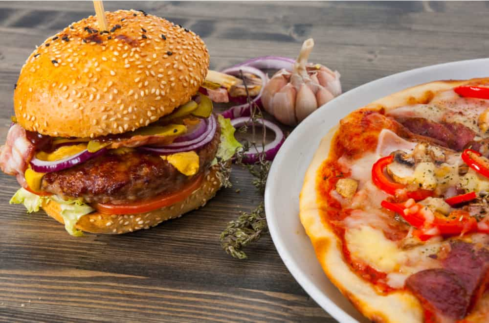 Pizza vs. Burger Which is Healthier