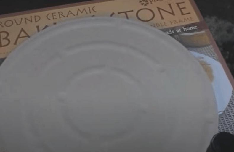 Prepare the pizza stone