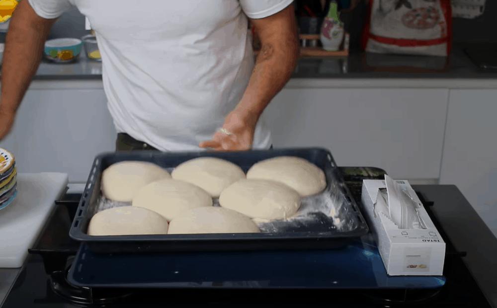Shape the Dough into Balls