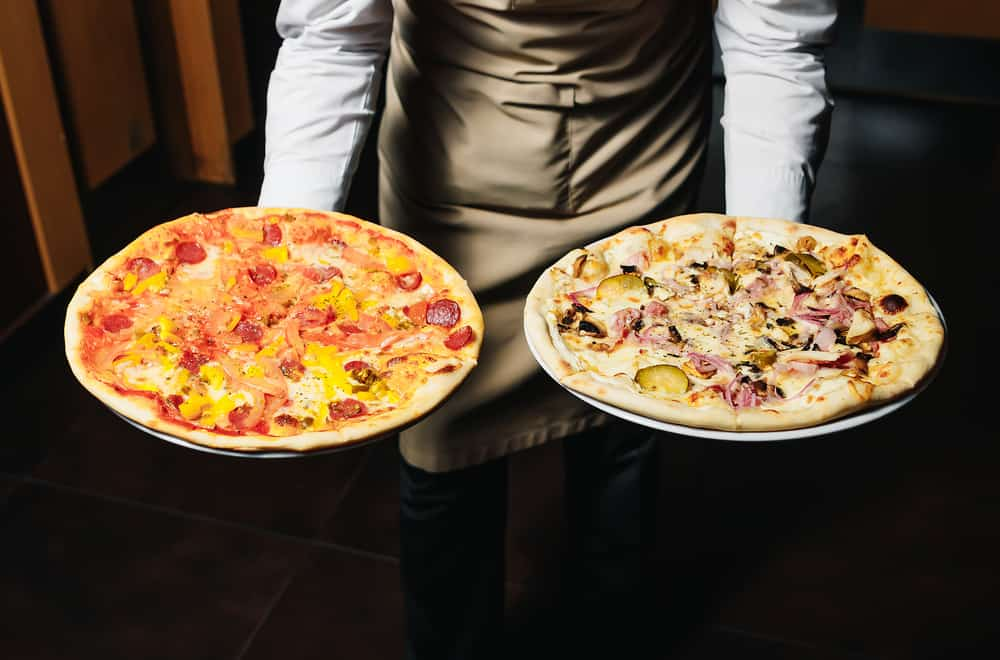 The History of the Two Pizzas