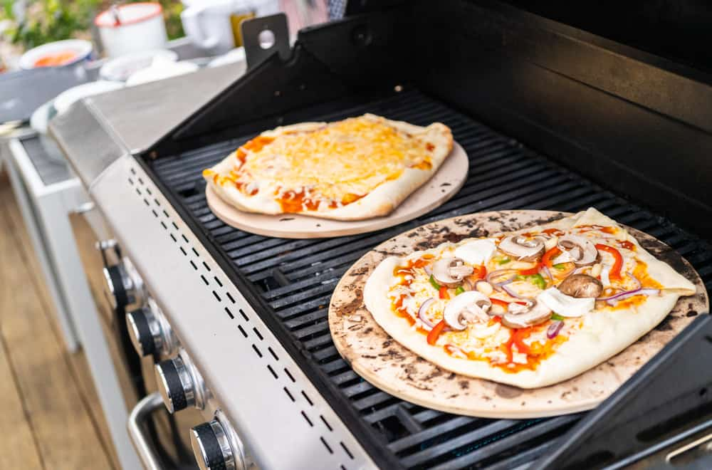 Why Use a Pizza Stone On a Grill