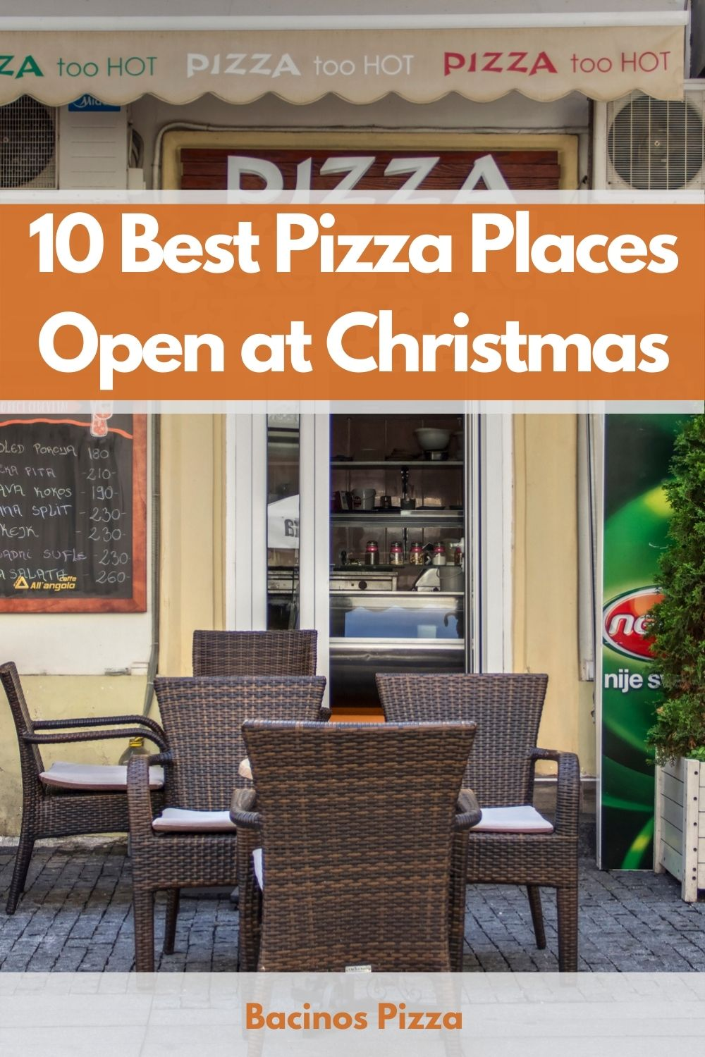 10 Best Pizza Places Open at Christmas pin