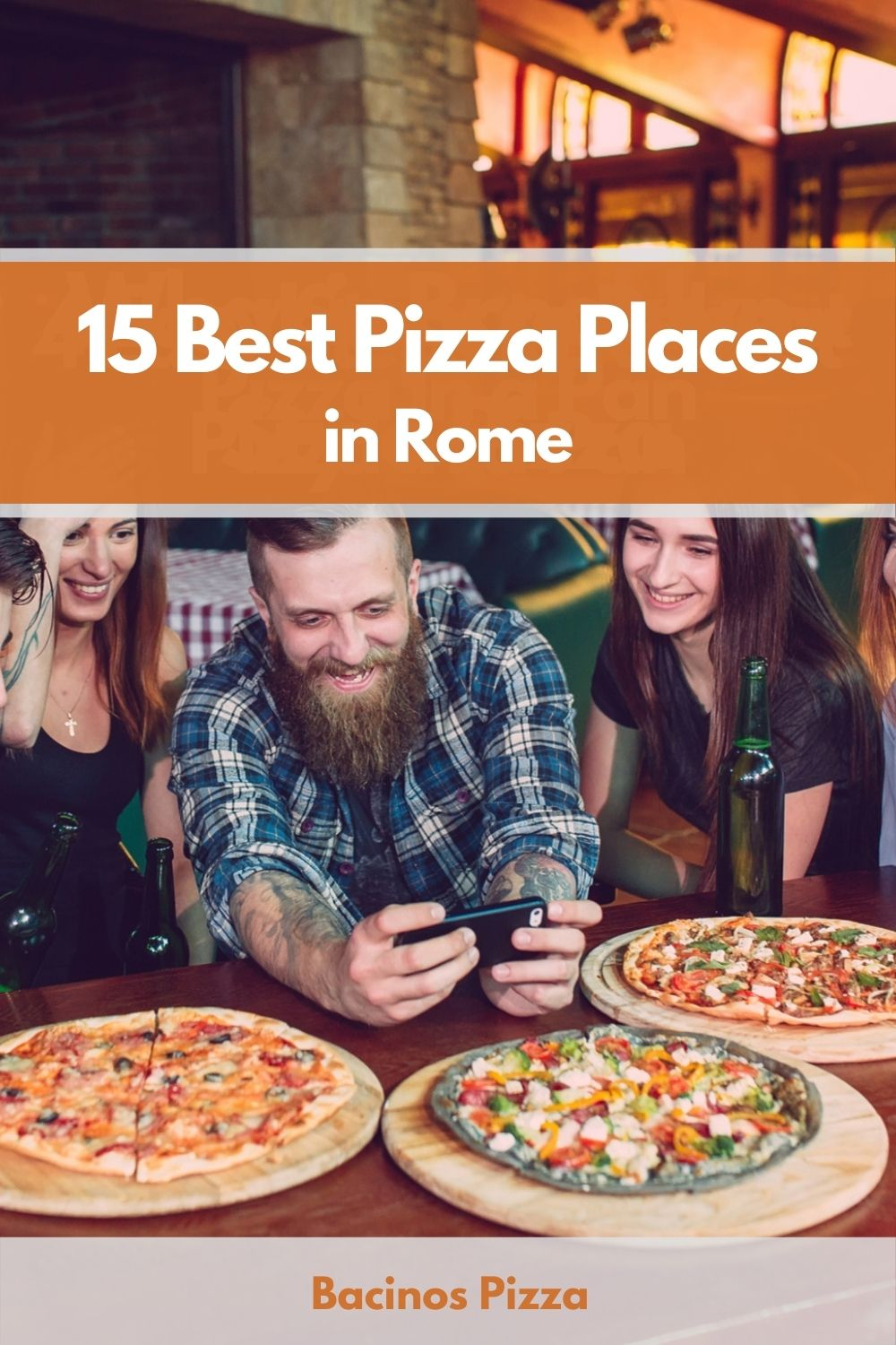 15 Best Pizza Places in Rome pin 2