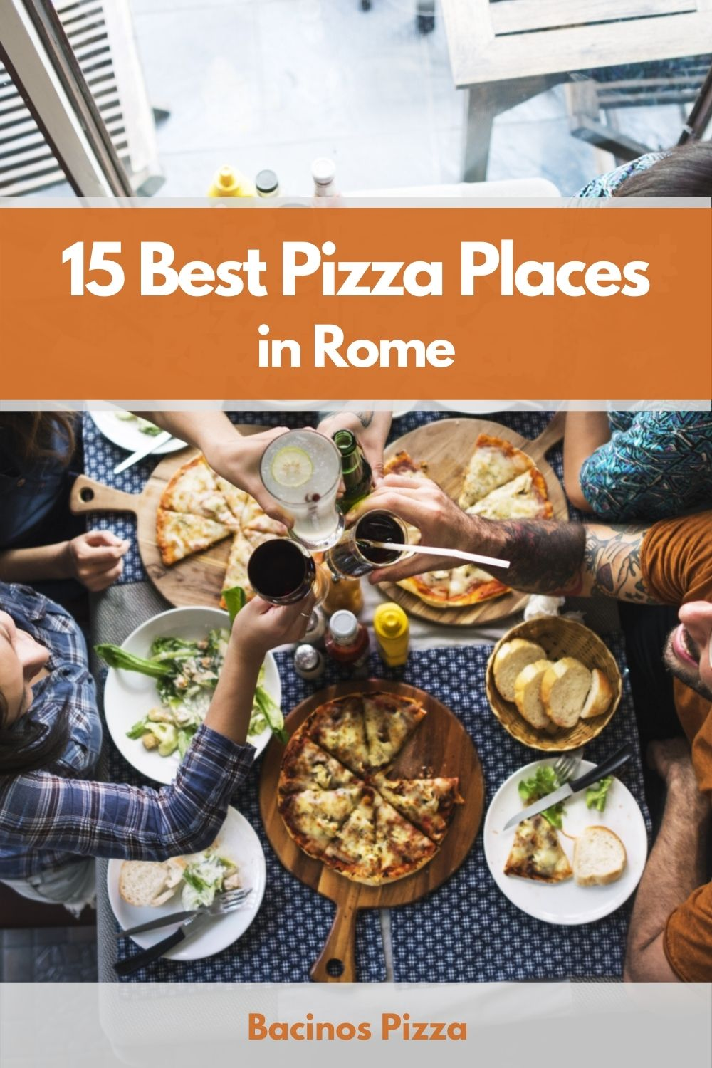 15 Best Pizza Places in Rome pin