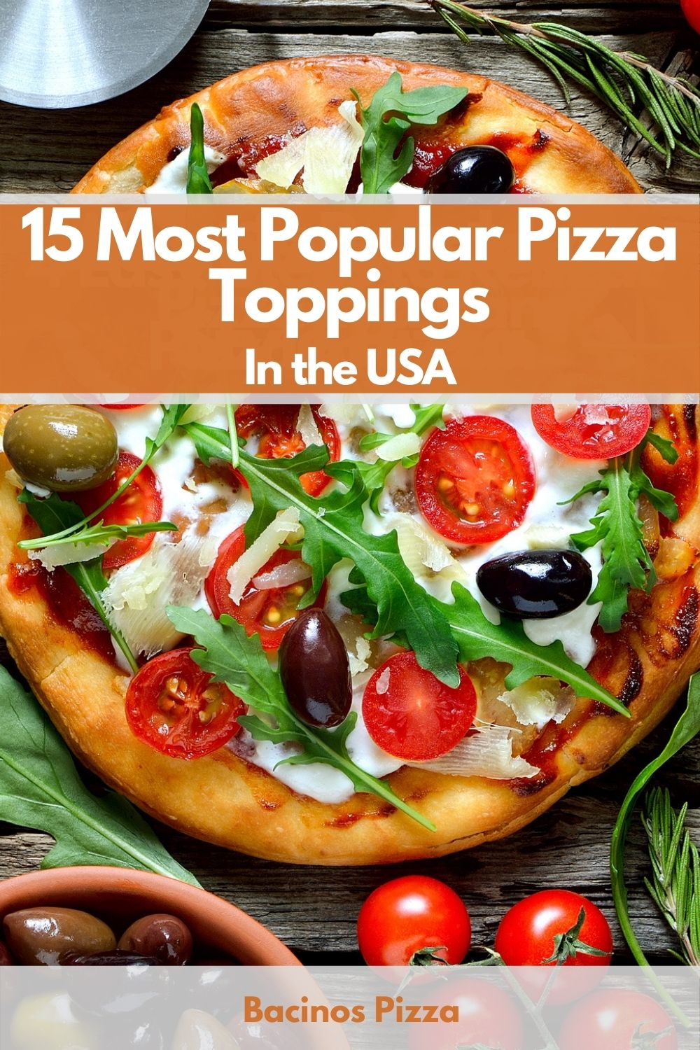 15 Most Popular Pizza Toppings In the USA pin 2
