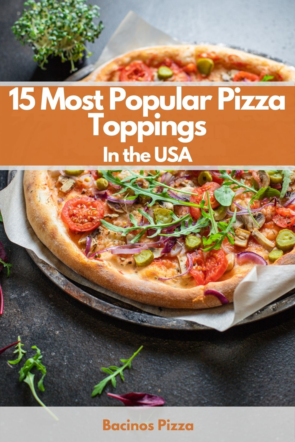 15 Most Popular Pizza Toppings In the USA pin