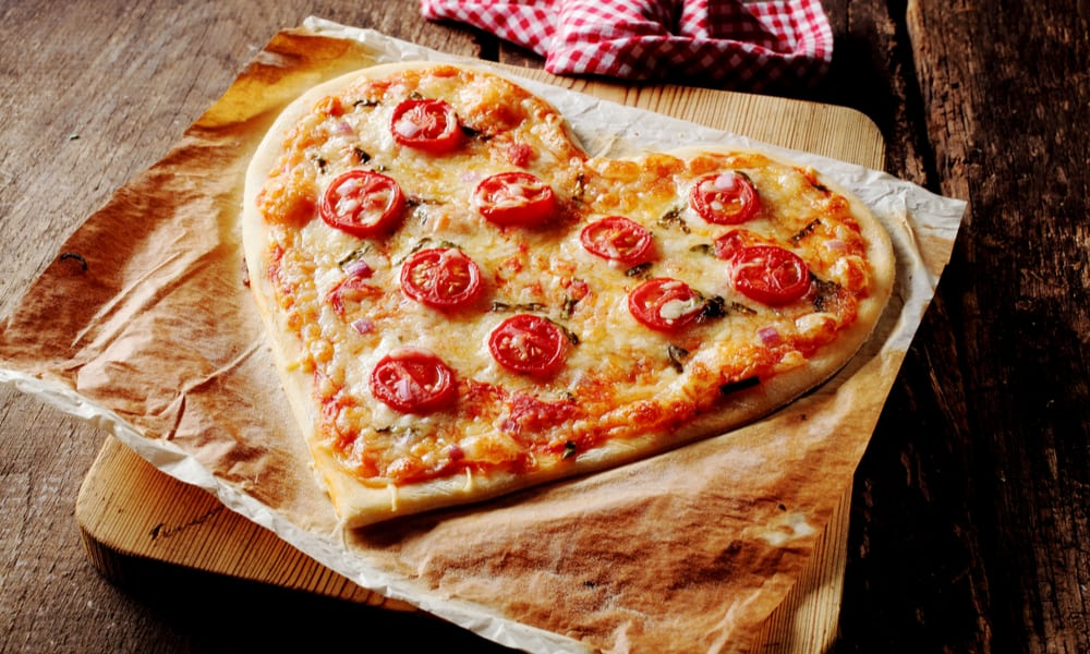 27 Heart-Shaped Pizza Recipes