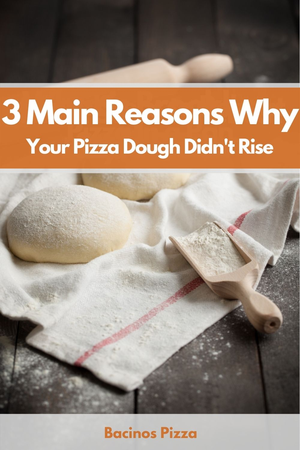3 Main Reasons Why Your Pizza Dough Didn't Rise pin 2