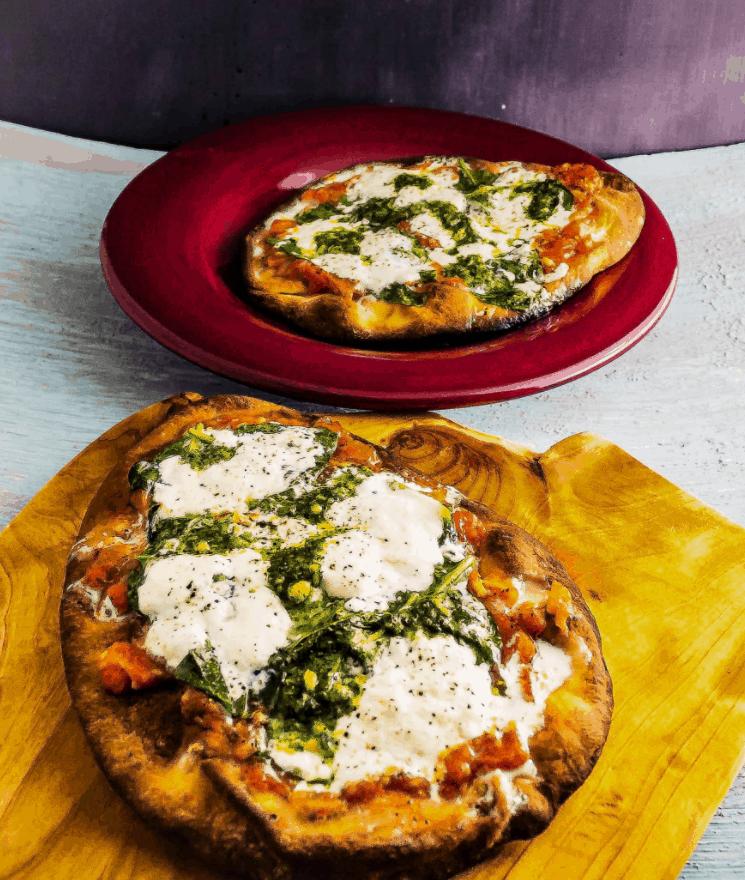 30 Minute Burrata Pizza – Seductioninthekitchen.com