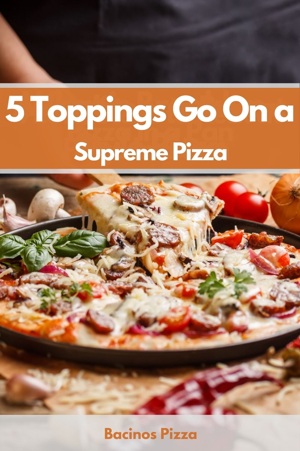 5 Toppings Go On a Supreme Pizza pin 2