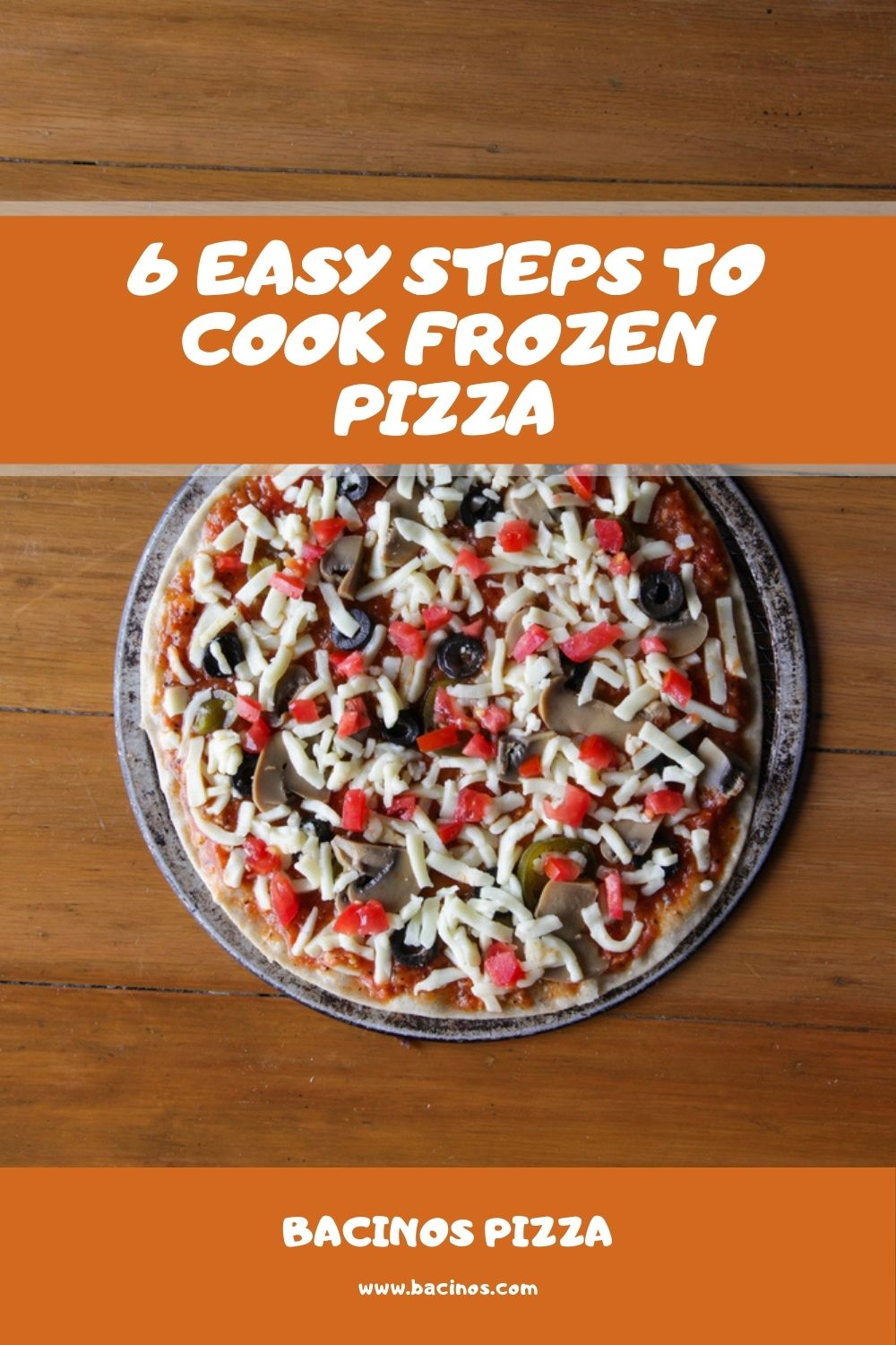 6 Easy Steps to Cook Frozen Pizza 1