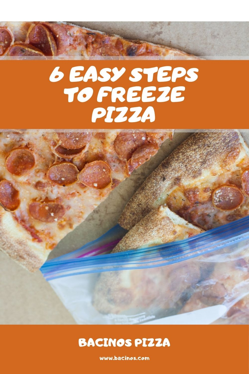 6 Easy Steps to Freeze Pizza (Homemade & Leftover Pizza) 1