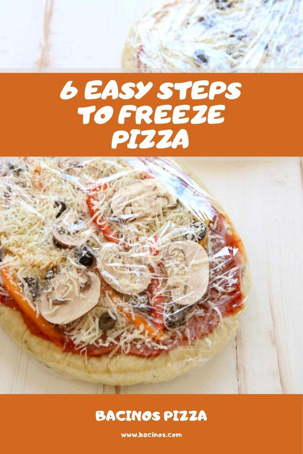 6 Easy Steps to Freeze Pizza (Homemade & Leftover Pizza) 2