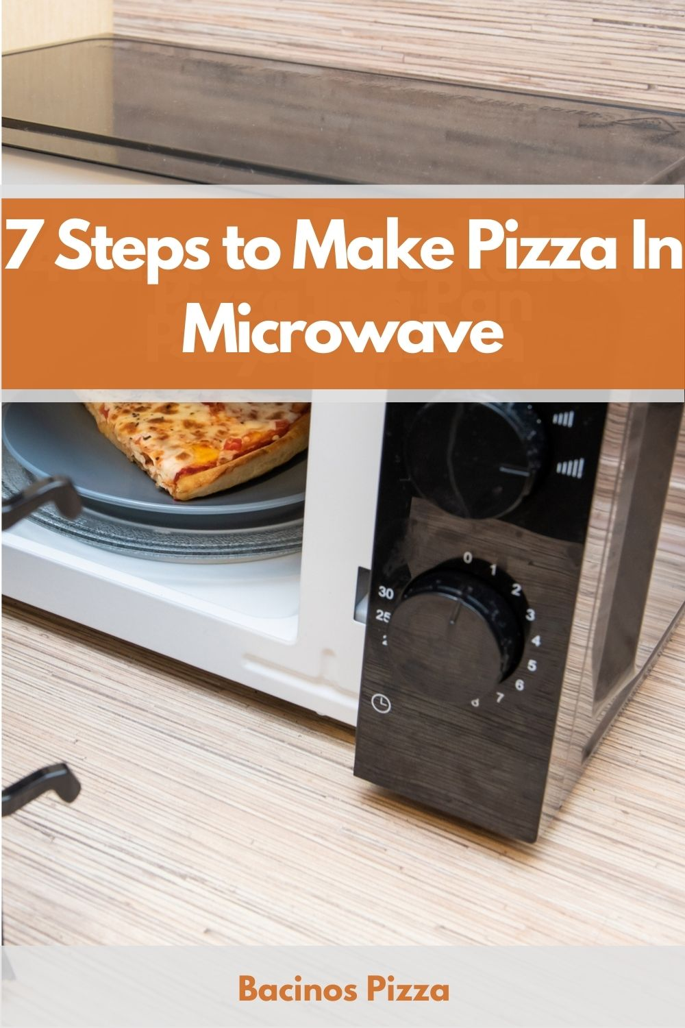 7 Steps to Make Pizza In Microwave pin 2