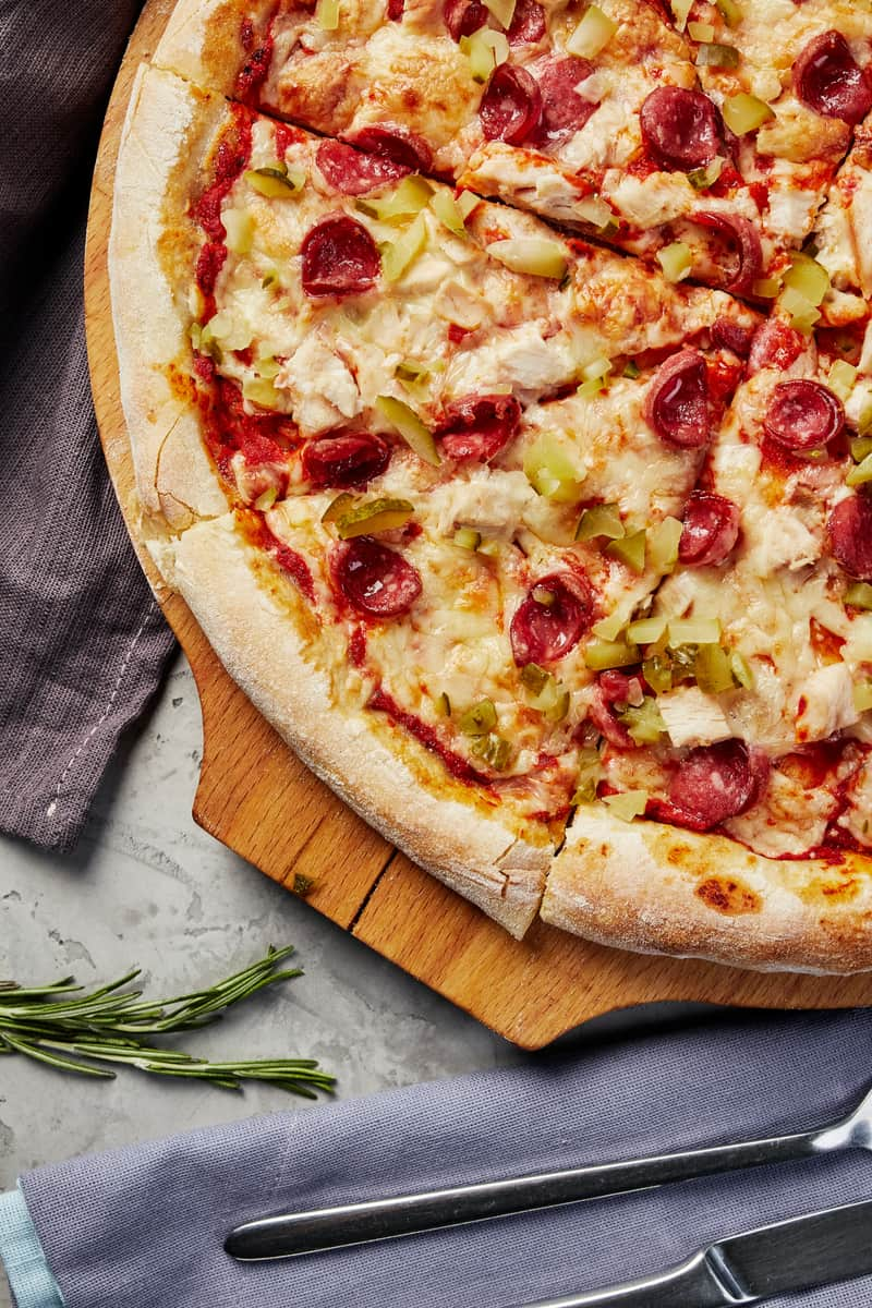 Add Healthier Toppers on Your Pizza