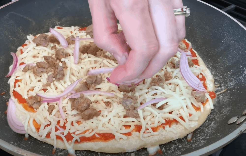 Add toppings
