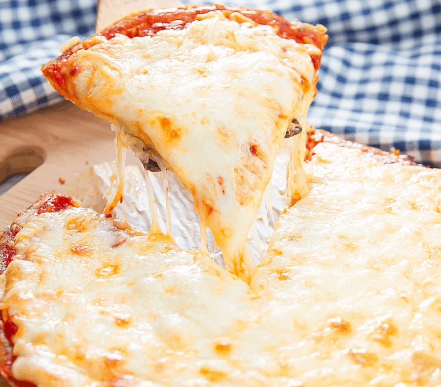 All-Cheese Pizza
