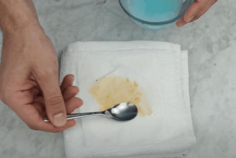 Apply Mild Detergent
