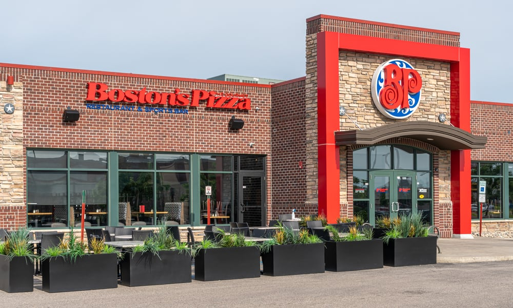 Boston's Pizza Restaurant and Sports Bar