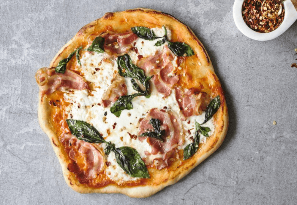 Burrata Pizza with Pancetta Recipe – The Frayed Apron