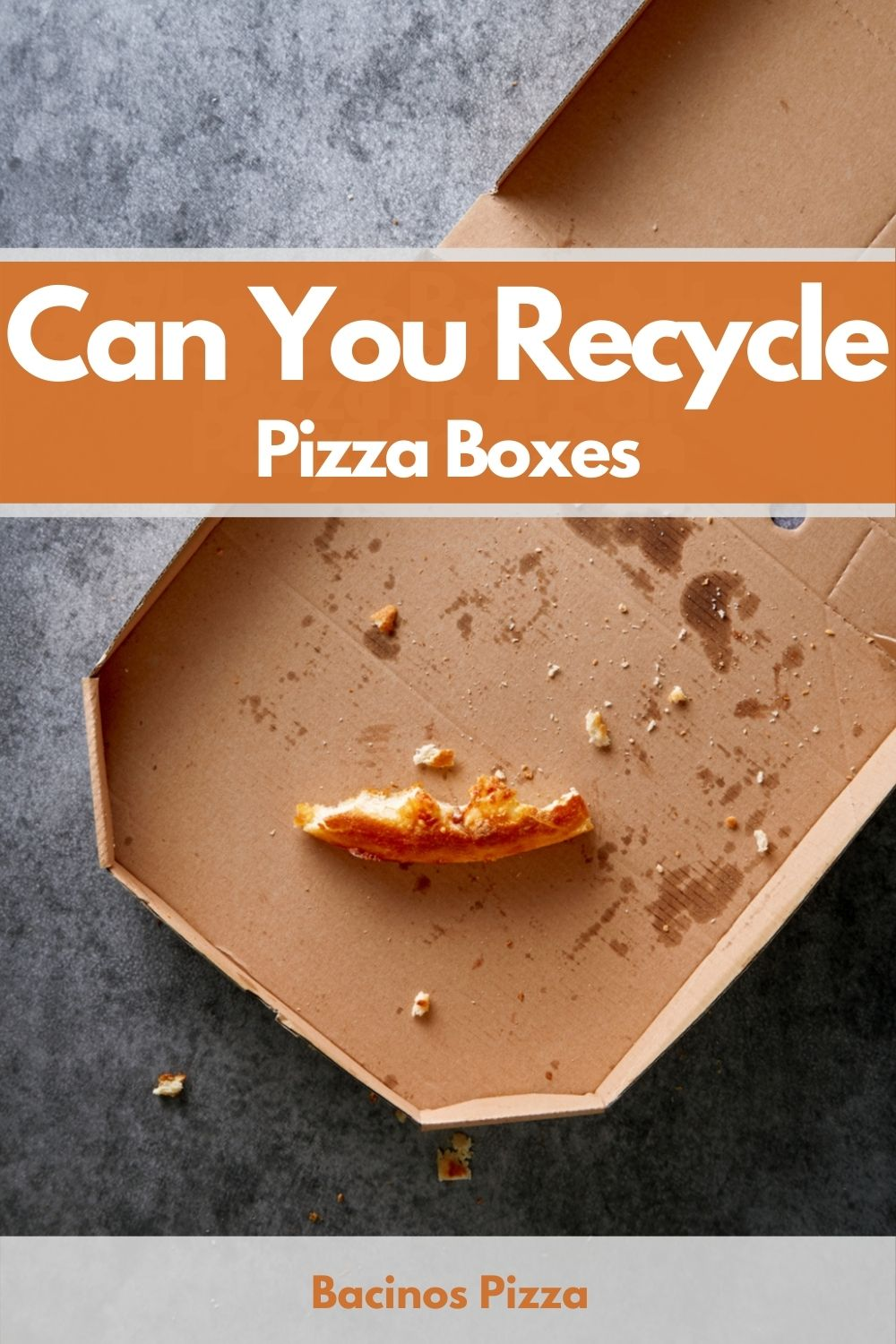 Can You Recycle Pizza Boxes pin