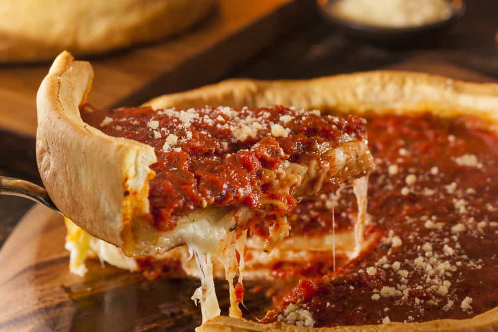 Chicago Style Pizza topping
