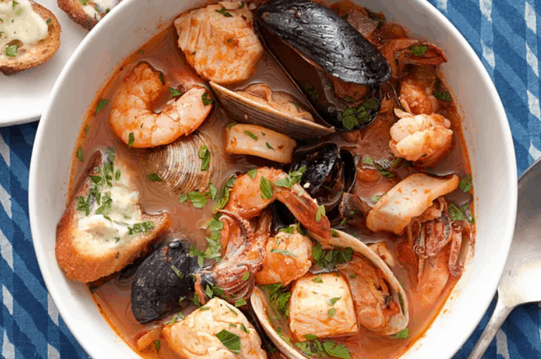 Cioppino Seafood Stew with Gremolata